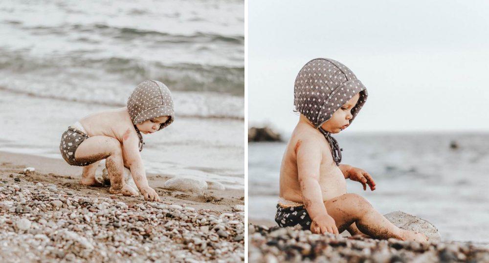 nyaralás babával